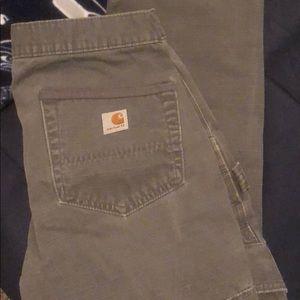 EUC carhartt men work pants